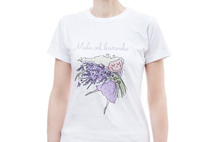 T-shirt Mala od lavande