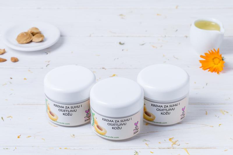 Krema za suhu i osjetljivu kožu