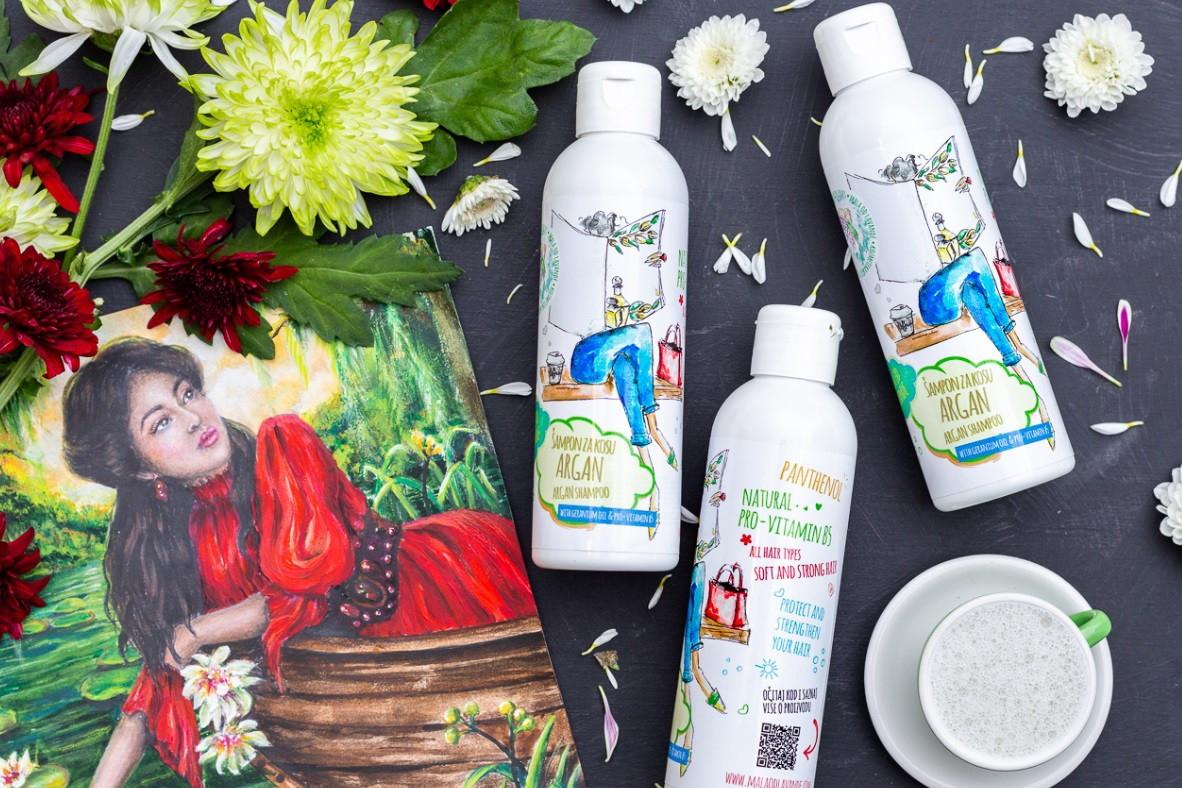 Novi šampon s Arganom, geranijem i pantenolom